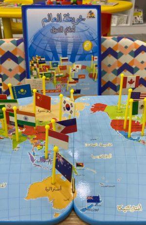 لعبة خريطة العالم