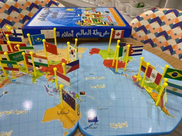 لعبة خريطة العالم 1